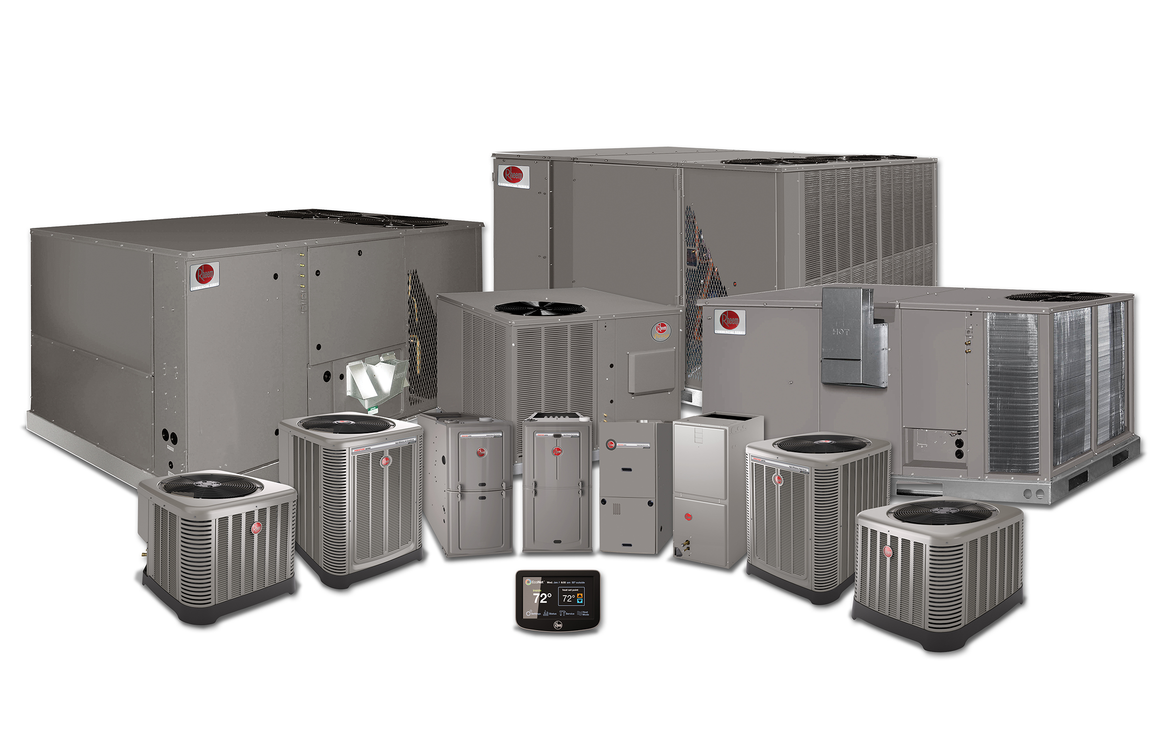 Rheem Res-Comcrl Htg-Clg-Family Group A-wEcoNetControl