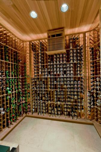 Domestic wine cellar